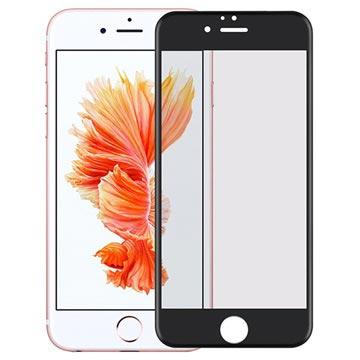 iPhone 6/6S 4D Full Størrelse 0.2mm Skjermbeskytter i Herdet Glass - Svart