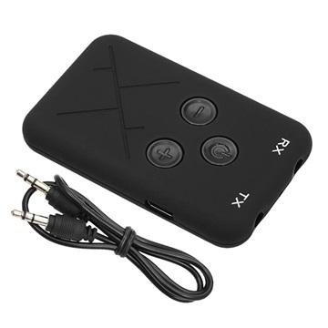 Bilde av 2-i-1 Bluetooth Mottaker Mottaker/Trådløs 3.5mm Audio-adapter RX/TX