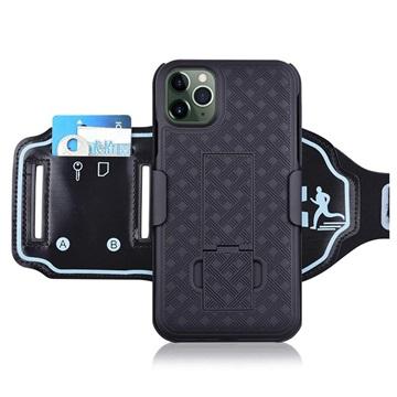 Bilde av 2-i-1 Avtakbart Iphone 11 Pro Max Sportsarmbånd - Svart