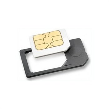 Kompatibel Micro SIM-kort Adapter - iPad, iPhone