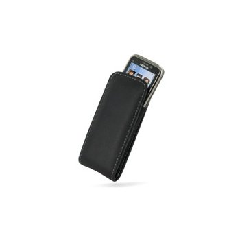 Nokia C5 PDair Lærveske - Sort