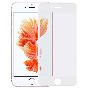 iPhone 6 Plus/6S Plus 4D Full Size 0.22mm Skjermbeskytter i Herdet Glass - Hvit