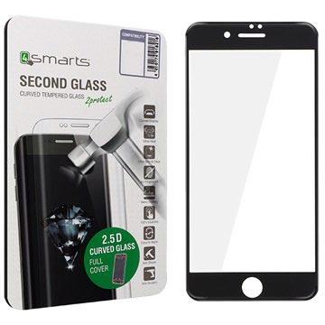 iPhone 7 4smarts Kurvet Glass Skjermbeskyttelse - Svart