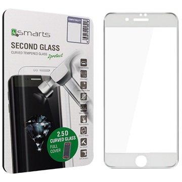 iPhone 7 4smarts Kurvet Glass Skjermbeskyttelse - Hvit