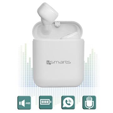 4smarts Eara Buttons TWS True Trådløse Hodetelefoner - Hvit