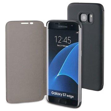 Samsung Galaxy S7 Edge 4smarts Kyoto Always-On Book Flip Veske - Svart