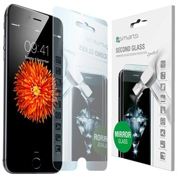 iPhone 6 Plus / 6S Plus 4smarts Second Glass Mirror Skjermbeskytter