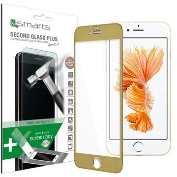 iPhone 6 Plus/6S Plus 4smarts Second Glass Plus Skjermbeskytter - Gull