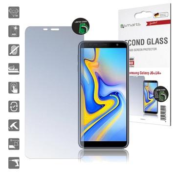 4smarts Second Glass Samsung Galaxy J4+, Galaxy J6+ Skjermbeskytter - Klar