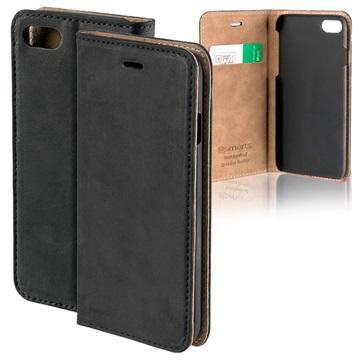 4smarts Trendline iPhone 7 / iPhone 8 Lommebok-deksel I Lær - Svart