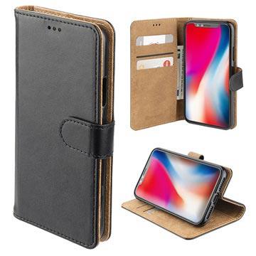 4smarts Urban Premium iPhone XR Lommebok-deksel - Svart