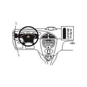 Brodit 803188 ProClip Citroen C5 01-04