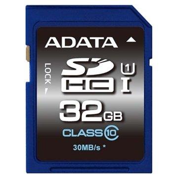 Adata ASDH32GUICL10-R Premier SDHC Minnekort - 32GB