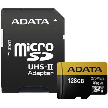 Adata Premier One MicroSDXC UHS-II Minnekort AUSDX128GUII3CL10-CA1 - 128GB