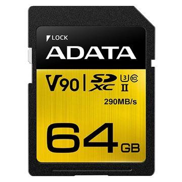 Adata Premier One SDXC UHS-II Minnekort ASDX64GUII3CL10-C - 64GB