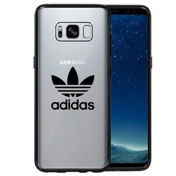 Samsung Galaxy S8 Adidas Originals Deksel - Klar / Svart