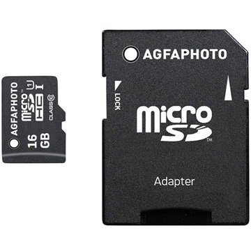 AgfaPhoto MicroSDHC Minnekort - 16GB