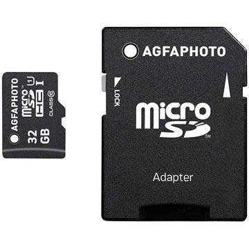 AgfaPhoto MicroSDHC Minnekort - 32GB