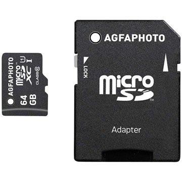 AgfaPhoto MicroSDXC Minnekort - 64GB