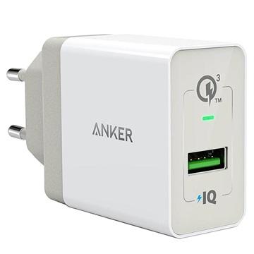 Bilde av Anker Powerport+ 1 Quick Charge 3.0 Vegglader - Hvit