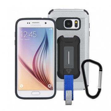 Bilde av Armor-x Cx-s6-gm Rugged Samsung Galaxy S6 Hybrid-deksel - Våpenmetall