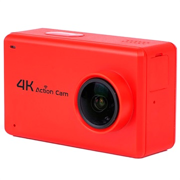 B1 NTK9660 2.45 Sports Vanntett 4K WiFi Actionkamera - Rød