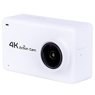 B1 NTK9660 2.45 Sports Vanntett 4K WiFi Actionkamera - Hvit