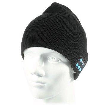 Beanie Hat Bluetooth-headset - Svart