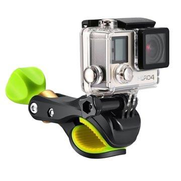 Actionkamera & GoPro Sykkelholder SV-BC001 - Svart / Limegrønn