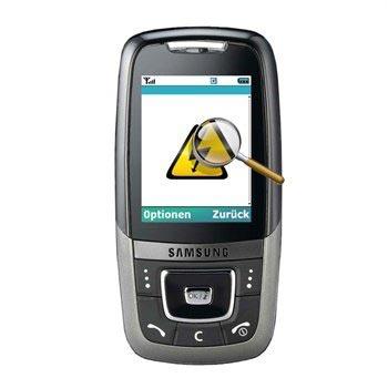 Samsung 600 Diagnose