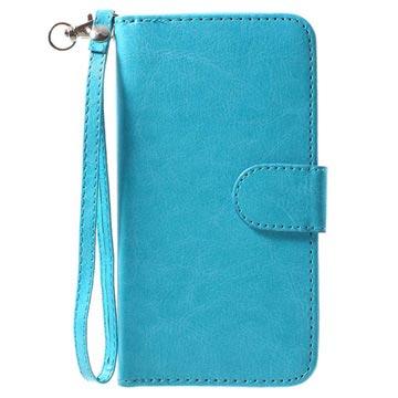 iPhone X Avtakbart 2-i-1 Lommebok-deksel - Blå