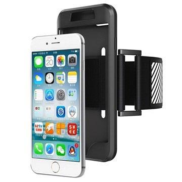 iPhone 7 / iPhone 8 Avtakbart Armbånd - Svart