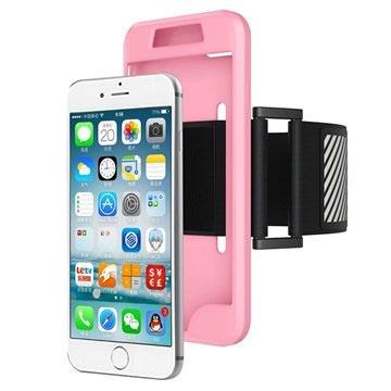 iPhone 7 / iPhone 8 Avtakbart Armbånd - Rosa