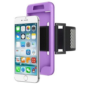 iPhone 7 / iPhone 8 Avtakbart Armbånd - Lilla