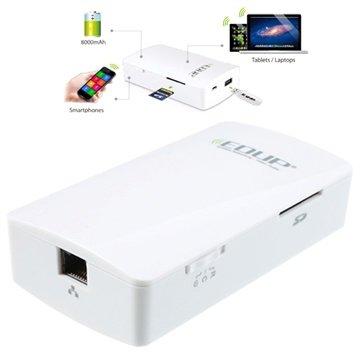 Edup EP-9511N Cloud Assistant / 3G Trådløs Ruter / Strømbank