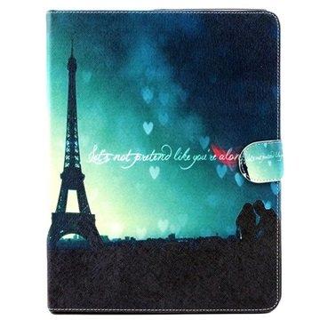 Folio Veske - iPad 2, iPad 3, iPad 4 - Eiffeltårnet