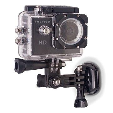 Forever Actionkamera & GoPro Sidemonteringssett - Svart