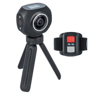 Forever SC-500 4K Sports Kamera med Trebent Stativ