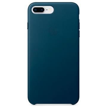 iPhone 7 Plus / iPhone 8 Plus Apple Lær Deksel MQHR2ZM/A - Kosmosblå