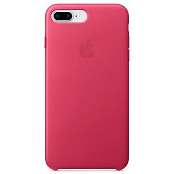 iPhone 7 Plus / iPhone 8 Plus Apple Lær Deksel MQHT2ZM/A - Rosa
