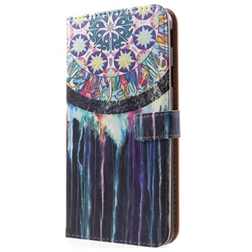 Glam Series Samsung Galaxy J4+ Lommebok-deksel - Drømmefanger