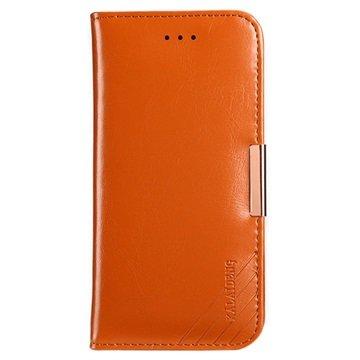 iPhone 7 / iPhone 8 Kalaideng Royale II Lommebok-deksel I Lær - Brun