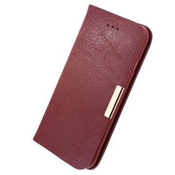 iPhone 6 / 6S Kalaideng Royale II Lommebok Lærveske - Rød
