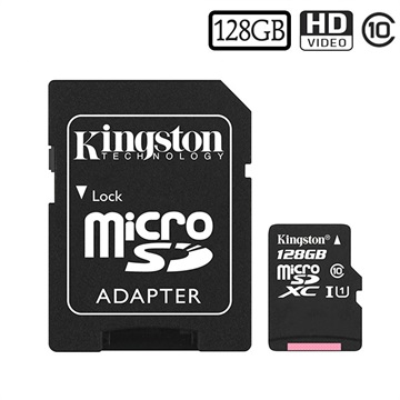 Kingston Canvas Select MicroSDXC Minnekort SDCS/128GB - 128GB