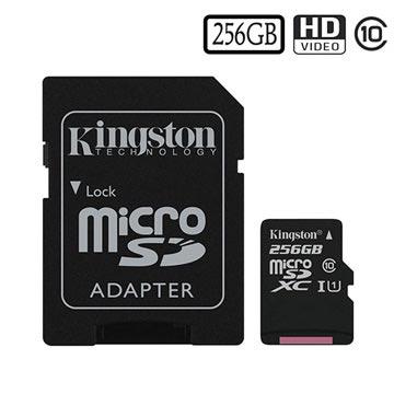 Kingston Canvas Select MicroSDXC Minnekort SDCS/256GB - 256GB