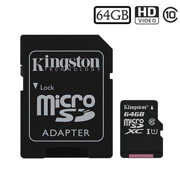 Kingston Canvas Select MicroSDXC Minnekort SDCS/64GB - 64GB
