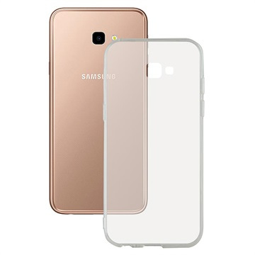 Ksix Flex Ultratynt Samsung Galaxy J4+ TPU-deksel - Gjennomsiktig