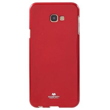 Samsung Galaxy J4+ Mercury Goospery Jelly TPU-deksel - Rød