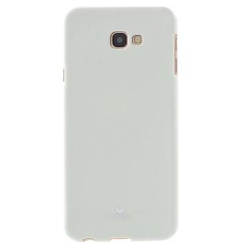Samsung Galaxy J4+ Mercury Goospery Jelly TPU-deksel - Hvit