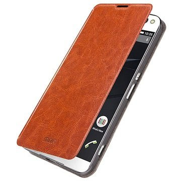 Sony Xperia C5 Ultra, Xperia C5 Ultra Dual Mofi Rui Series Flip Veske - Brun